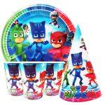 Купить Детскую Одноразовую Посуду (Герои в масках)