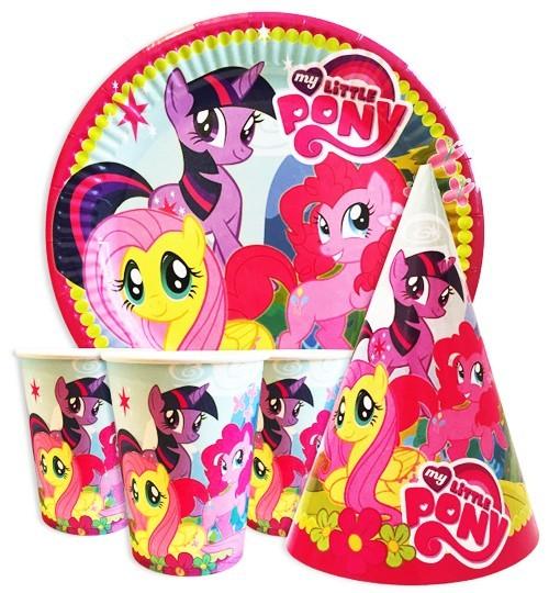 My Little Pony одноразовая детская посуда на праздник