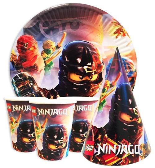 Lego Ninjago абор посуды для детского праздника