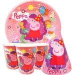 Купить Детскую Одноразовую Посуду (Свинка Пеппа)