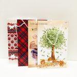 Пакеты для подарков с разными картинками