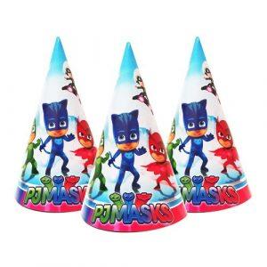 Герои в масках колпаки на праздник для детей