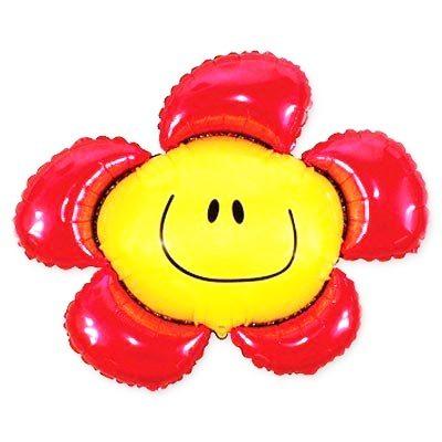 Шарик Цветок Красный Купить