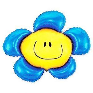 Купить Синий Цветочек Шарик в Киеве