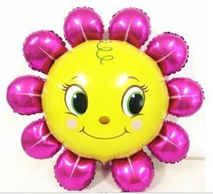 Купить шар Цветок улыбашка