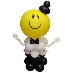 Мальчик из воздушных шаров
