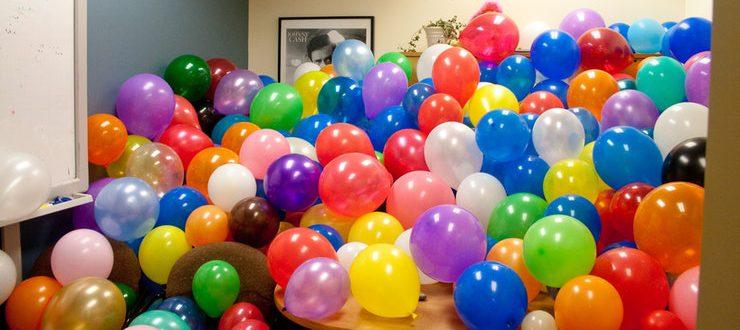 Отличный подарок из воздушных шаров на день рождения в Киеве