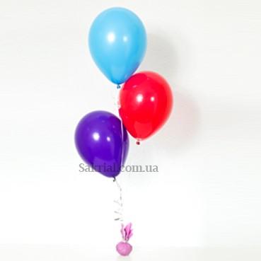 Фонтан из шариков на свадьбу