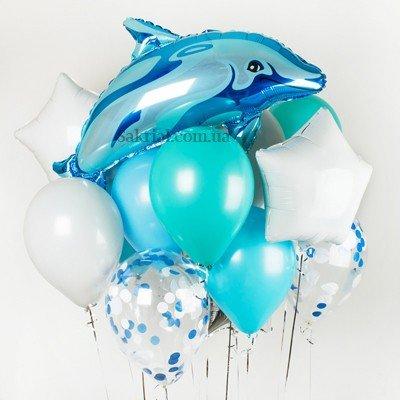 Купить Набор Шаров с Дельфином