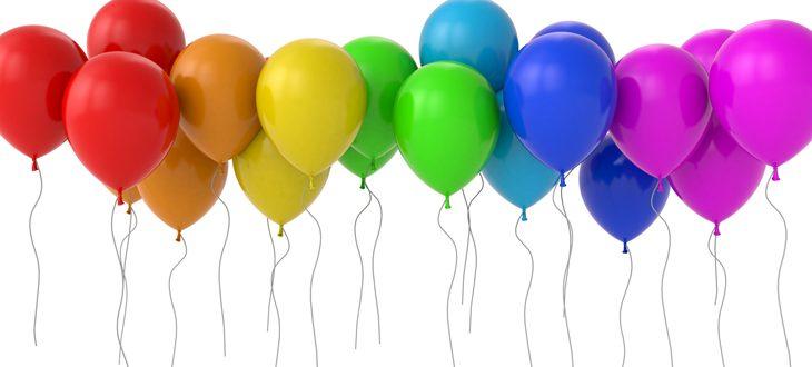 Сколько стоить гелиевые шары для украшения праздника в Киеве