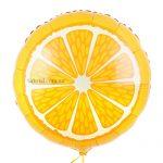 фольгированный шар в виде апельсина