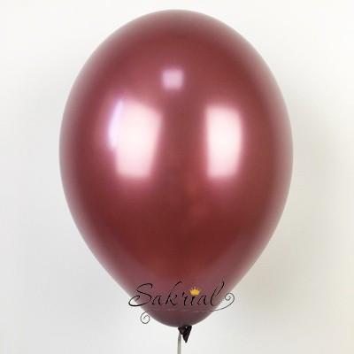 Гелиевый шар бургундия цвет