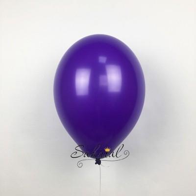 Фиолетовый шар надутый гелием в Киеве от сакриал