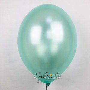 Металлик воздушный шар мятного цвета