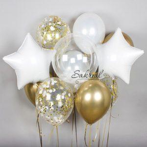 Купить красивый набор из гелиевых шаров