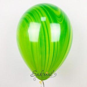 Зеленый неверно красивый шарик Супер Агат