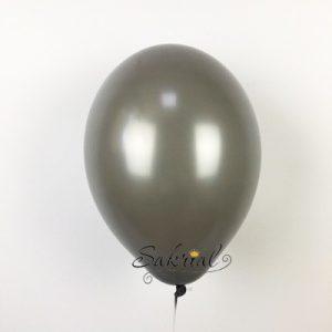 Серый воздушный гелиевый шар Киев
