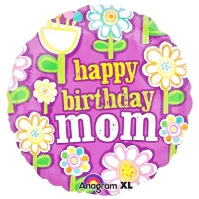 Купить шар С Днем Рождения, Мама