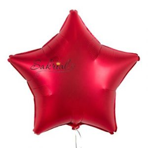Купить шар Звезду Сатин «Сангрия»