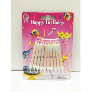 Купить Свечи для Торта (Жемчужные)