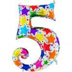 Купить шар-цифру 5 на День рождения
