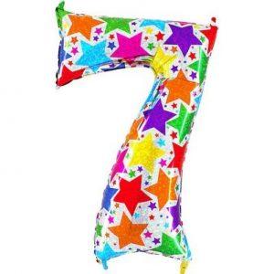 Купить шар-цифру 7 на День рождения