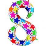 Купить шар-цифру 8 на День рождения