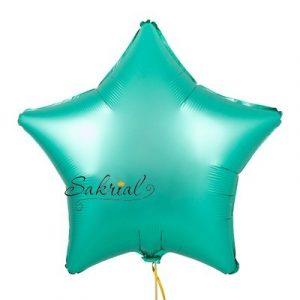 Купить шар Звезду Сатин «Изумрудная»