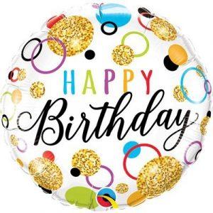 Заказать Шар Happy Birthday на Праздник