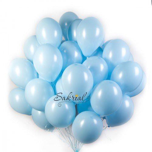 Купить Голубые Воздушные Шары