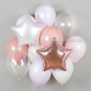 Купить Набор с прозрачными шарами
