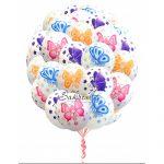 Купить Шары Бабочки Многоцветные