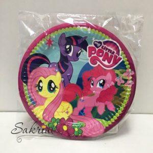 Купить Тарелки Детские Одноразовые (Пинки Пай)