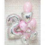 Необычно-красивый набор шариков девочке на 2 года