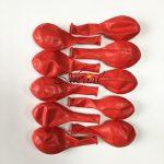 Надувные Шарики в Упаковке Красные