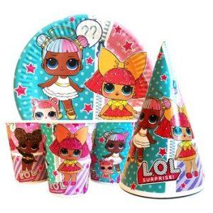Купить Детскую Одноразовую Посуду (Куклы Лол)