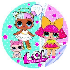 Купить Тарелки Детские Одноразовые (Куклы Лол)