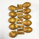 Шарики в Упаковке Золото