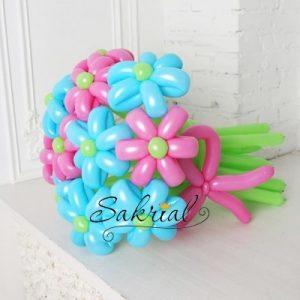 Купить Букет из 11 Цветов из Шаров