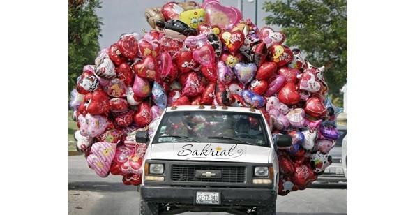 шарики на ночь в машине