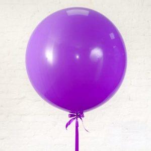 Купить Большой Фиолетовый Шар в Киеве