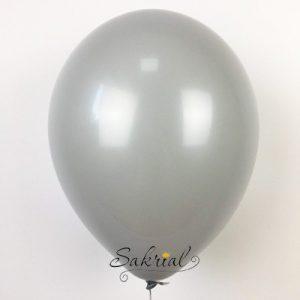 Купить серые шарики с гелием в киеве