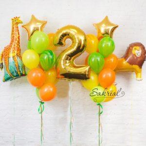 Подарок на 2 Года из шаров
