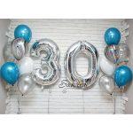 Подарок из шаров на 30 лет
