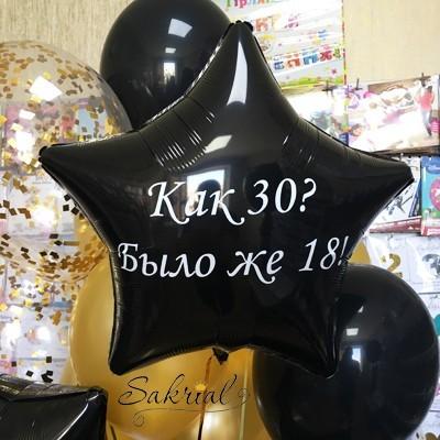 Оскорбительные шары в Киеве