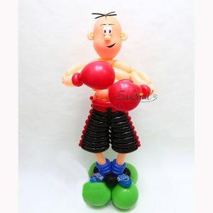 Фигура из шариков Боксер