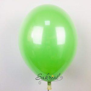 Стеклянный Зелный Шар с Гелием