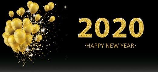 Воздушные шары на Новый год 2020
