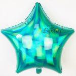 Звезда Голографическая «Изумрудная»