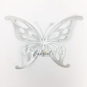 Серебряная Бабочка для Шаров
